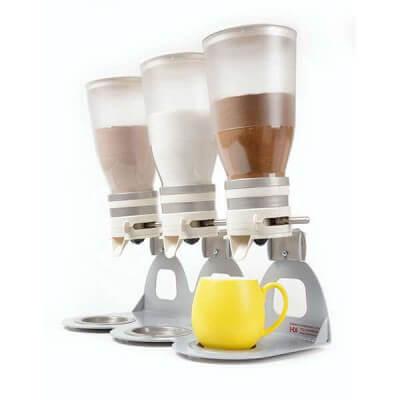 דיספנסר מחלק מנות לקפה, סוכר, שוקו ואבקות