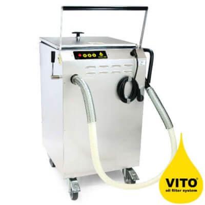 מערכת סינון שמן טיגון לתעשייה VITO X