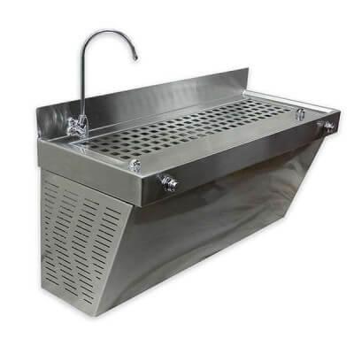 דלפק מים קרים מוסדי